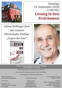 Plakat Anton Dellinger