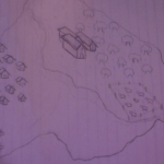 "Drawing of diff. world in the ""Ravnkel's"" game..."