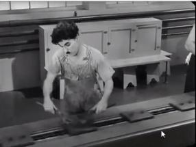Chaplin Modern Times - Factory Scene