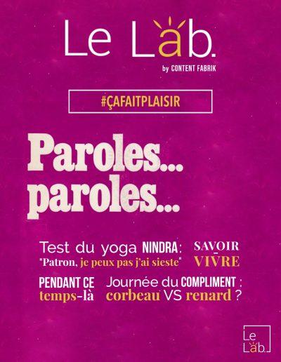 Lab. Magazine 2 : #çafaitplaisir
