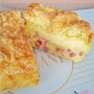 cake magique, quiche magique, gateau magique, gâteau magique salé, apéro, companion, texture, jambon, comté, recette originale