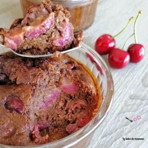 gâteau chocolat cerise companion