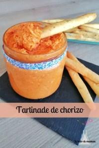 tartinade chorizo companion