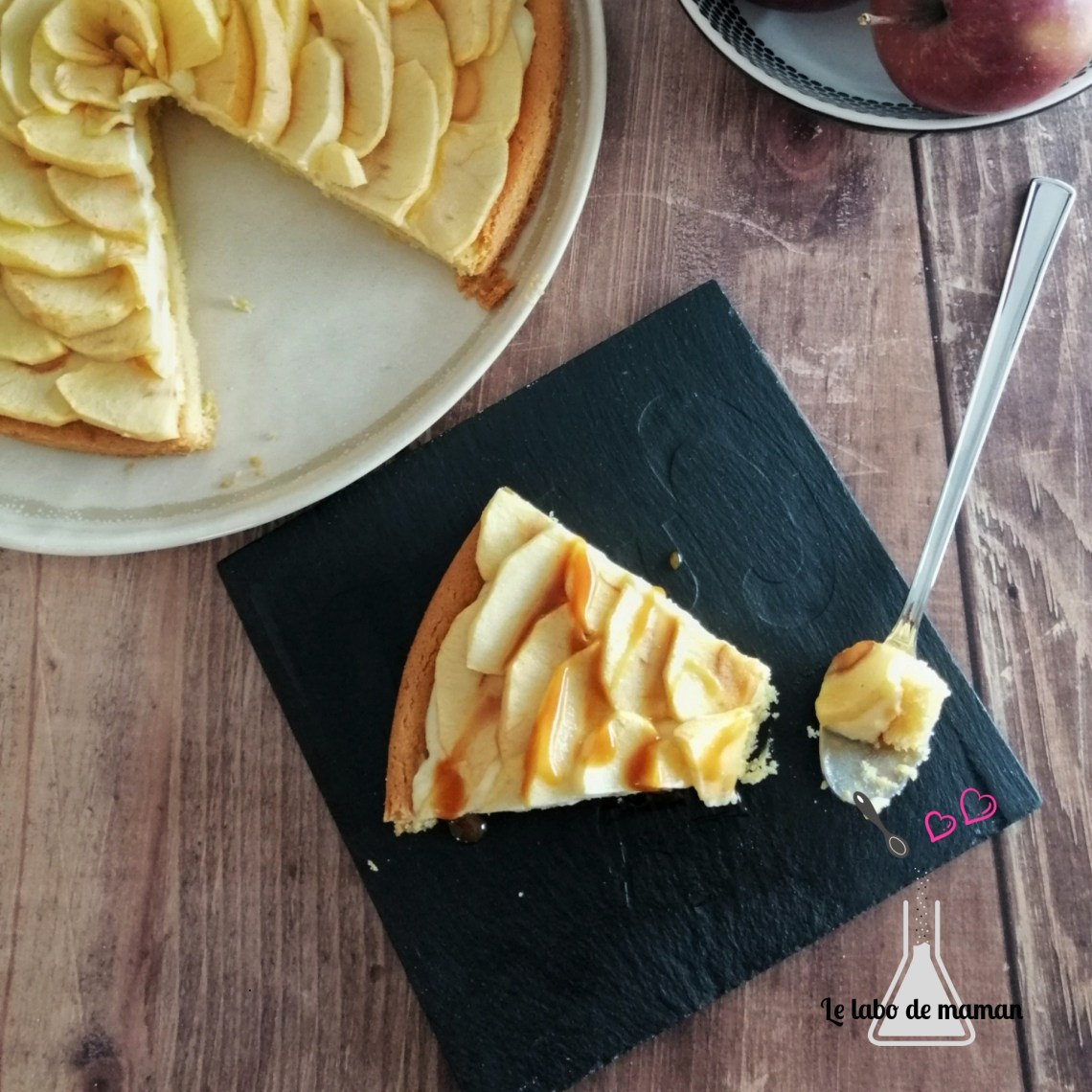 tarte pommes companion