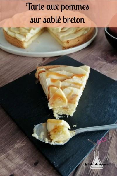 tarte pommes sablé companion