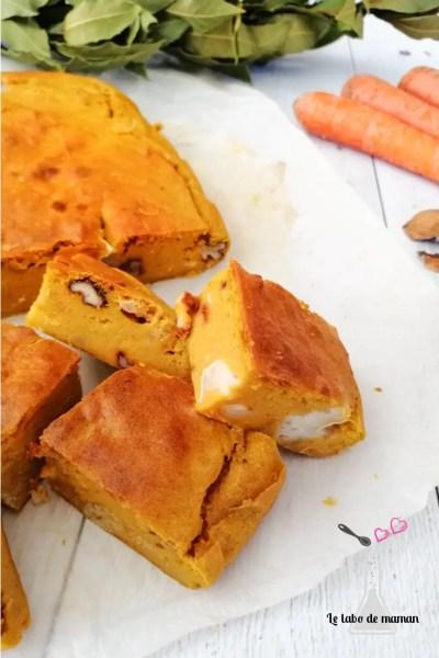 brownie salé carottes