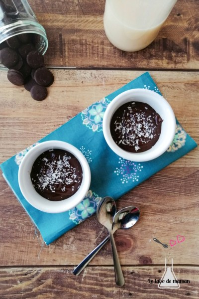 crème dessert chocolat vegetale