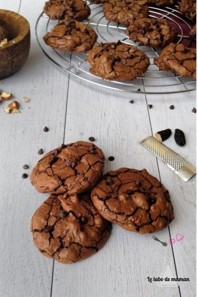 cookies nuage chocolat