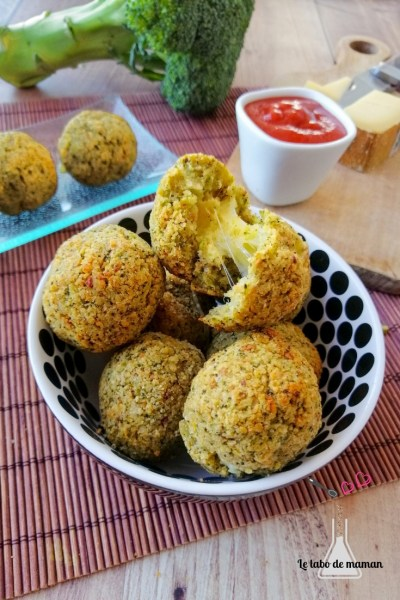 recette croquettes brocoli fromage
