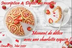 recette charlotte CMUM