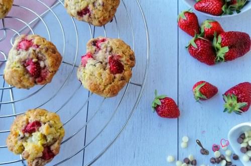 cookies fraises