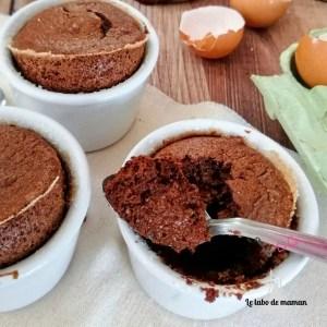 Soufflés chocolat
