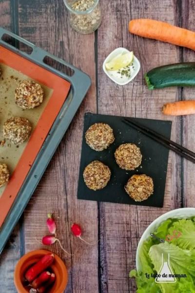 boulettes courgette carotte