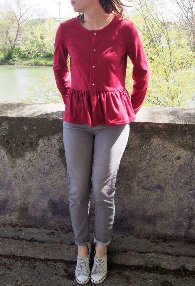 Gilet Monceau à basques