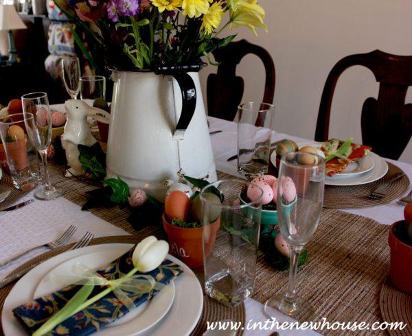 Vintage Garden Tablescape