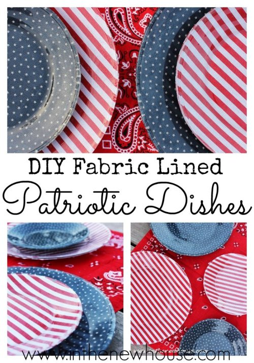 This easy DIY craft is so easy and cheap to make and perfect for Memorial Day and Fourth Of July