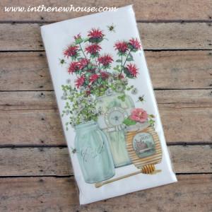 Charleston Market Flour Sack Tea Towel Giveaway