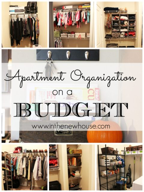 Apartment Organization On A Budget