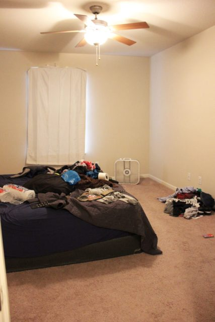 Bedroom Before