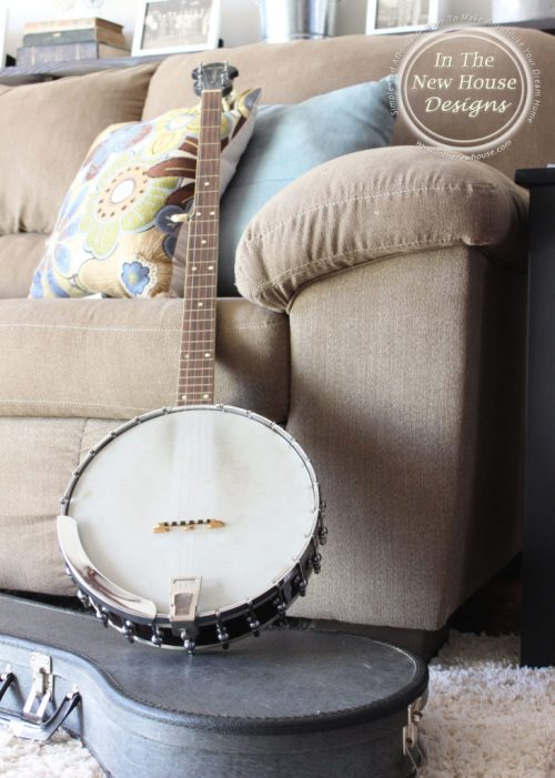 Gorgeous Old Banjo