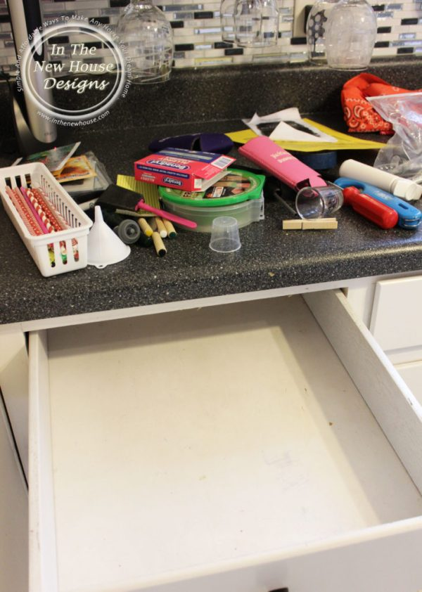 Empty everything from the drawer