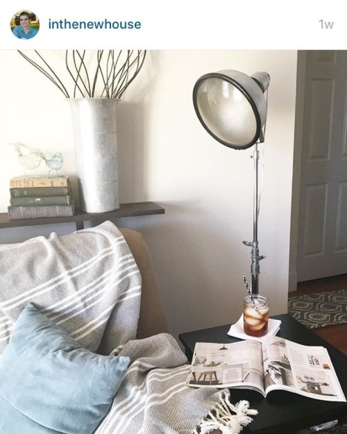 Antique Spotlight Lamp