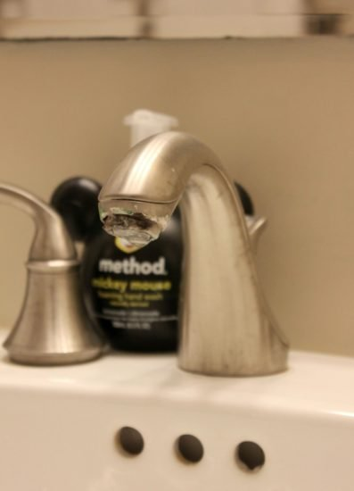 Dirty Faucet