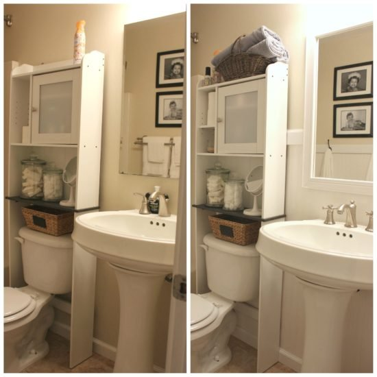Farmhouse Bathroom Facelift