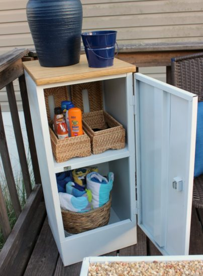 Outdoor Storage Cabinet Upcycle