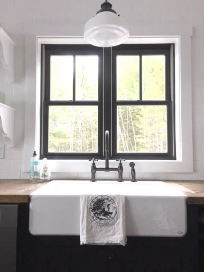 Farmhouse Cottage Kitchen Sink