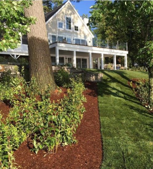 Lakeside Cottage Landscaping