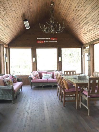 Lakeside Cottage Porch