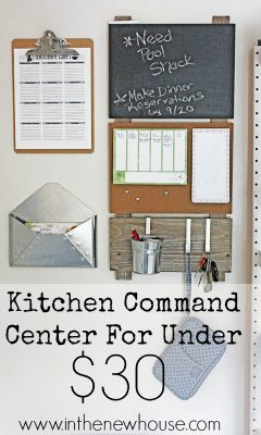 kitchen-command-center-under-thirty-dollars