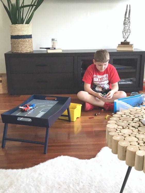 DIY Lego Tray for kids