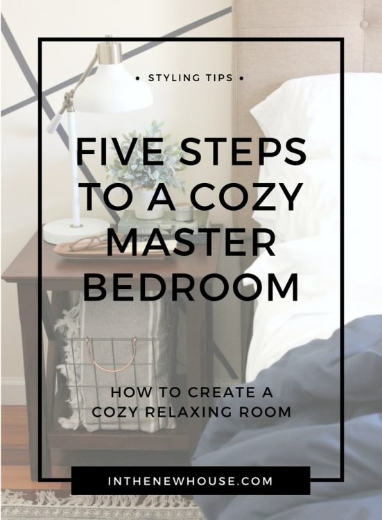 Learn how to create a cozy and relaxing bedroom with these super simple tips
