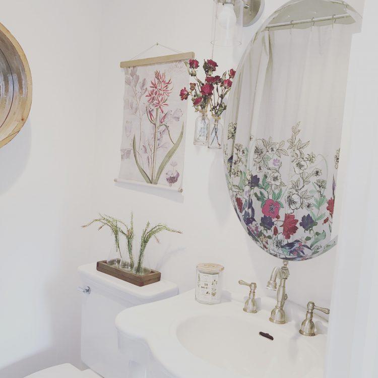 farmhouse small bathroom