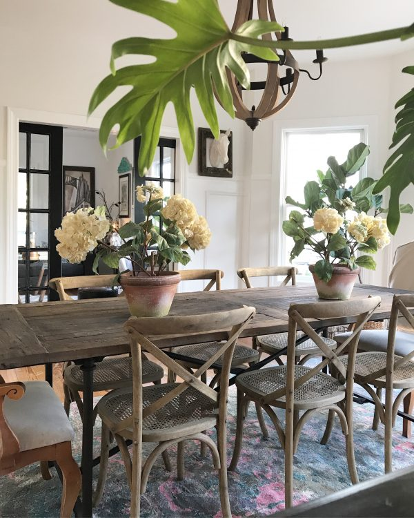 rustic farmhouse french country dining room