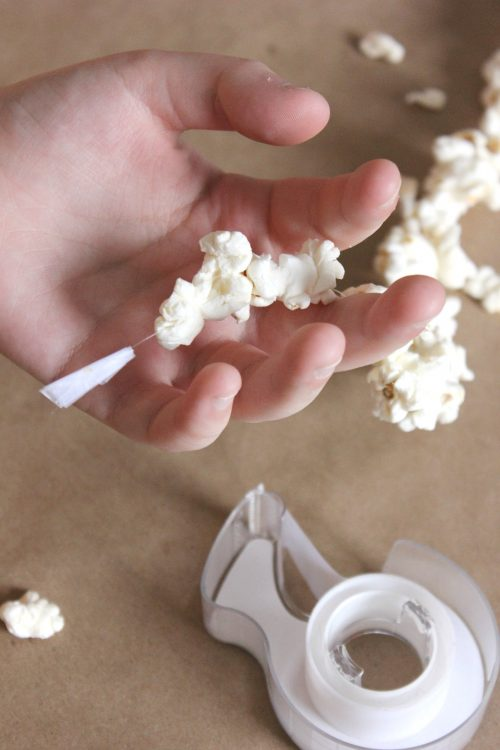 cheap popcorn garland