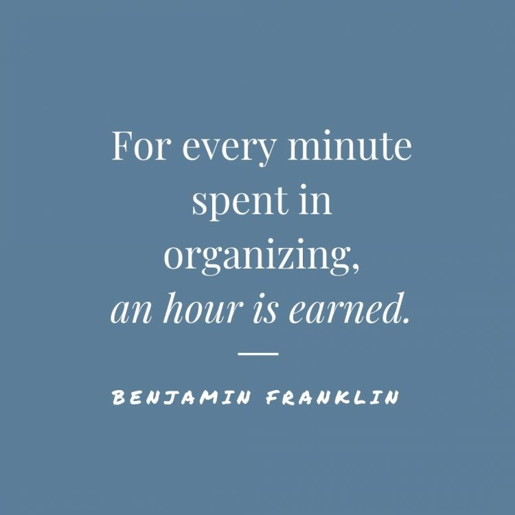 Image result for quotes about organization
