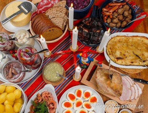 Repas de Noël en Suède