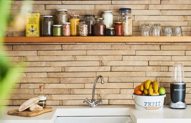 Tak Butuh Banyak Biaya, Berikut Simak Cara Buat Rak Dapur Minimalis
