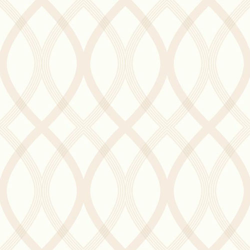 2535-20666 simple space 2 contour lattice wallpaper beige off white