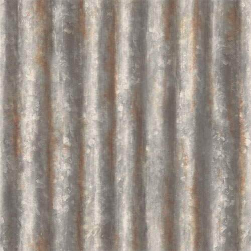Corrugated Metal Wallpaper Lelands Wallpaper