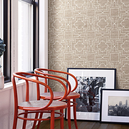 irongate trellis wallpaper roomset