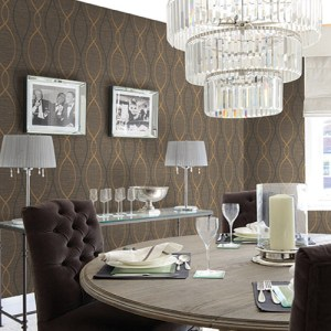 geometric seabrook feldspar tendrils wallpaper roomset