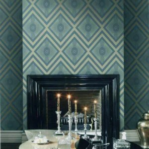 gatsby harlequin wallpaper roomset