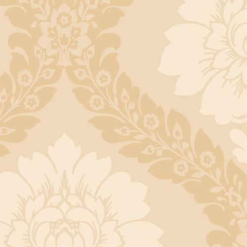 SH34518 shades classic damask wallpaper tan beige