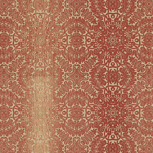 TX34828 texture style 2 quilted ombre damask wallpaper red