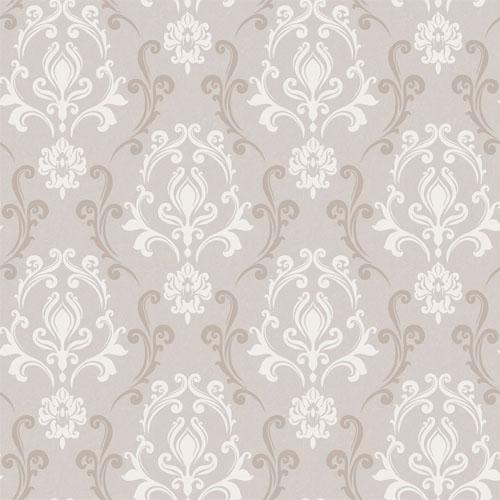VL214172 obsession van luit mercury damask wallpaper beige cream
