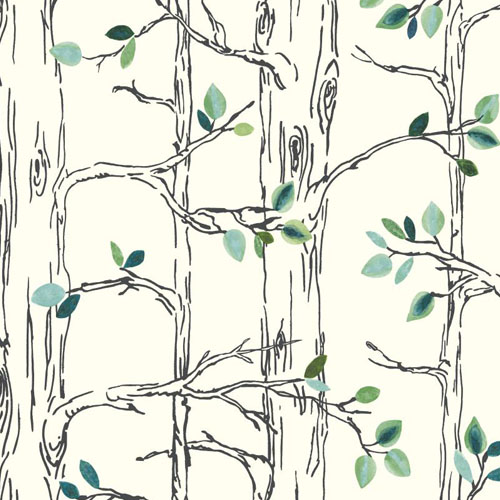 SB7671 Brothers and Sisters 5 Knock On Wood Sure Strip Wallpaper Aqua